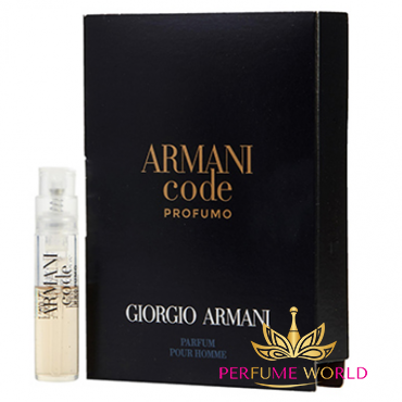 Vial Armani Code Profumo for men