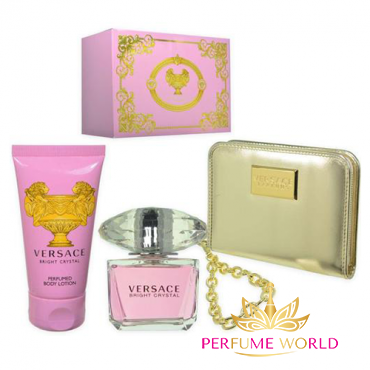 Gift Versace Bright Crystal 3pc