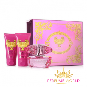 Gift Versace Bright Crystal  Absolu 3pc
