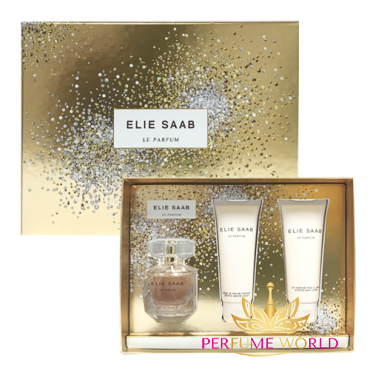 Gift Elie Saab Le Purfum 2018 3pc ( NH90ml + Shower Cream 75ml + Body Lotion 75ml)