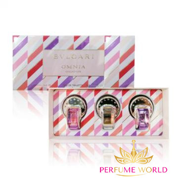 Gift Omnia Collection 3pc ( Pink Sapphire 5ml + Omnia Crystalline 5ml + Omnia Amethyste 5ml )