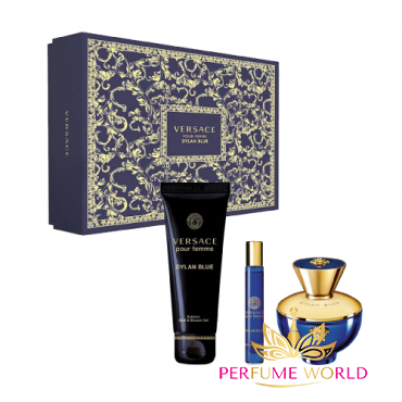 Gift Versace Dylan Blue Pour Pemme 3pc